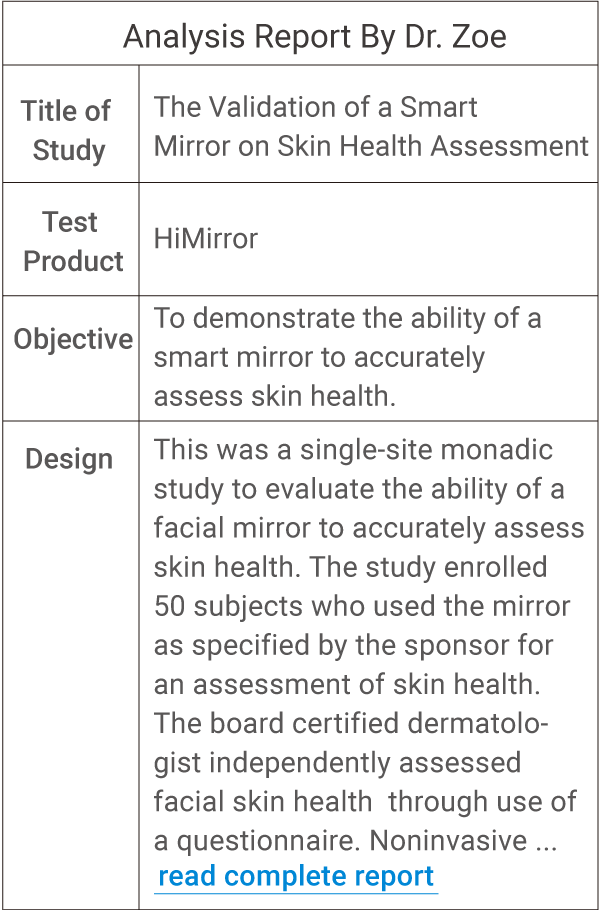 HiMirror | HiMirror Series | Smart Beauty Mirror